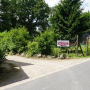 Zufahrt zur Villa Mieze-Mau